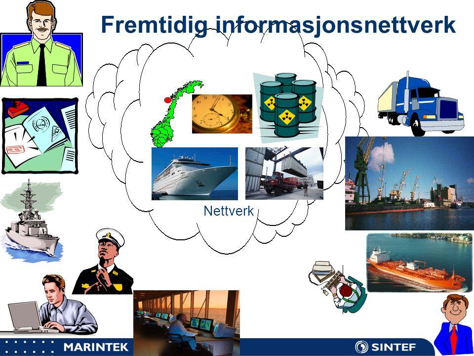 MARINTEK 9 Nettverk Fremtidig informasjonsnettverk
