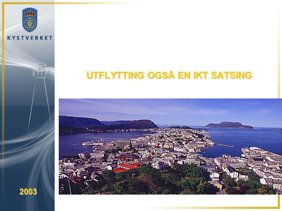 UTFLYTTING OGSÅ EN IKT SATSING 2003