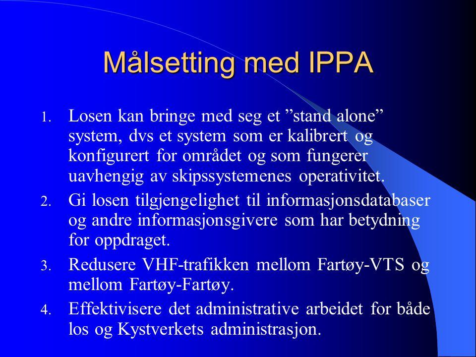 Målsetting med IPPA 1.