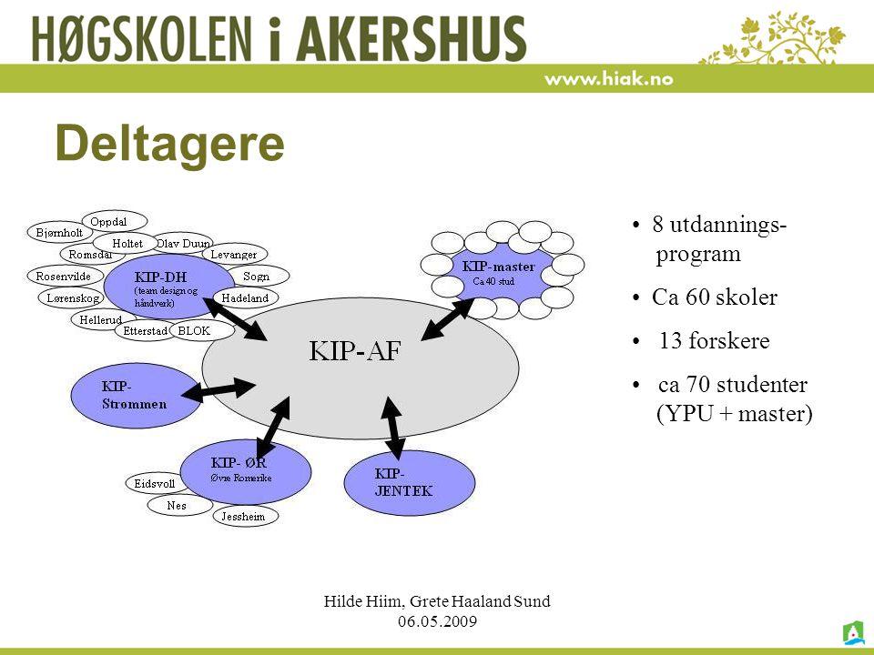 Hilde Hiim, Grete Haaland Sund 06.05.2009 Kvalitet i yrkesopplæringen?.