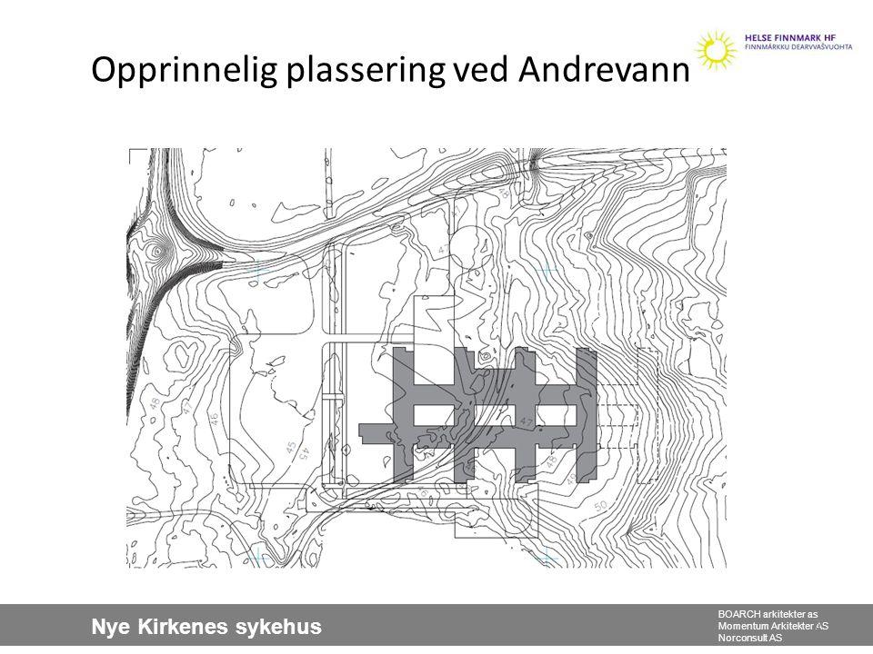 Nye Kirkenes sykehus BOARCH arkitekter as Momentum Arkitekter AS Norconsult AS Kvartærgeologisk kart