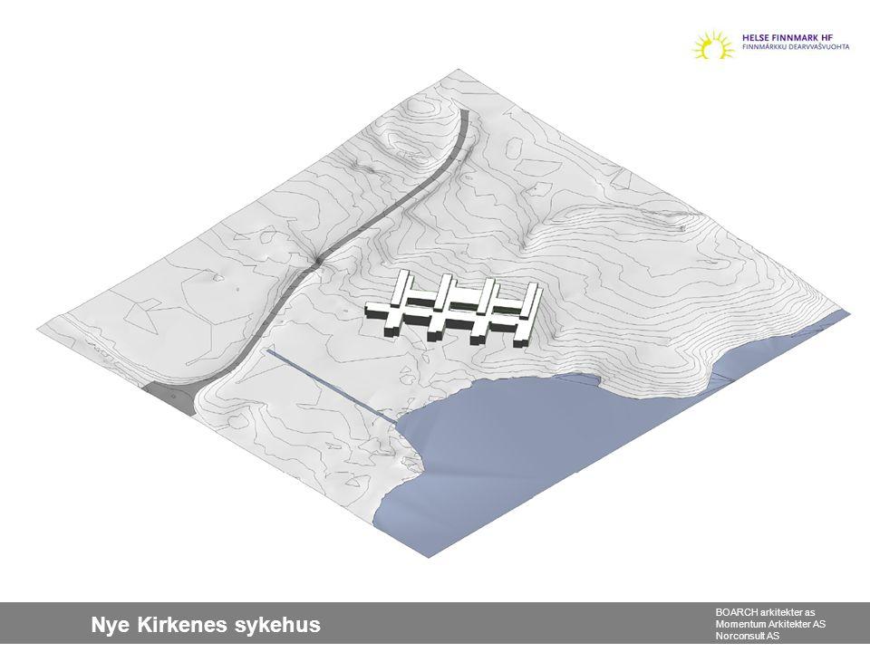 Nye Kirkenes sykehus BOARCH arkitekter as Momentum Arkitekter AS Norconsult AS
