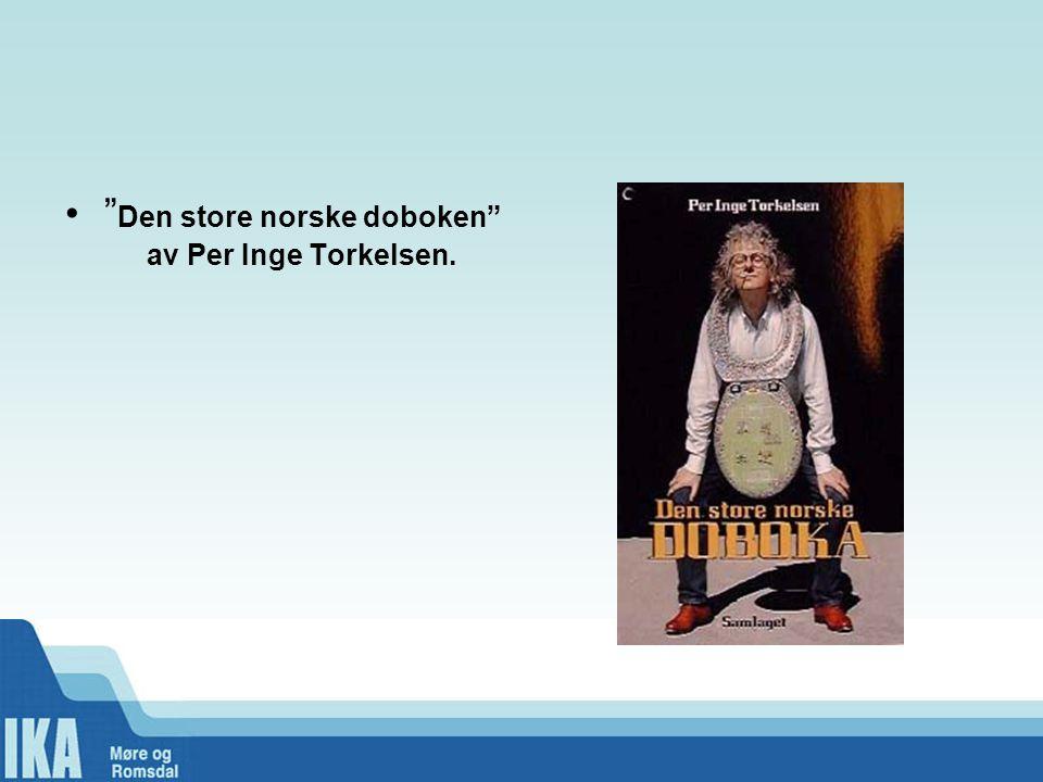 Den store norske doboken av Per Inge Torkelsen.