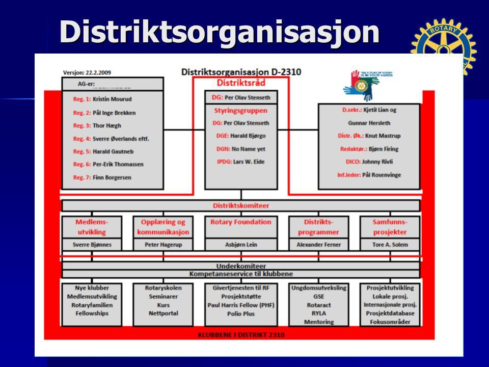 Distriktsorganisasjon