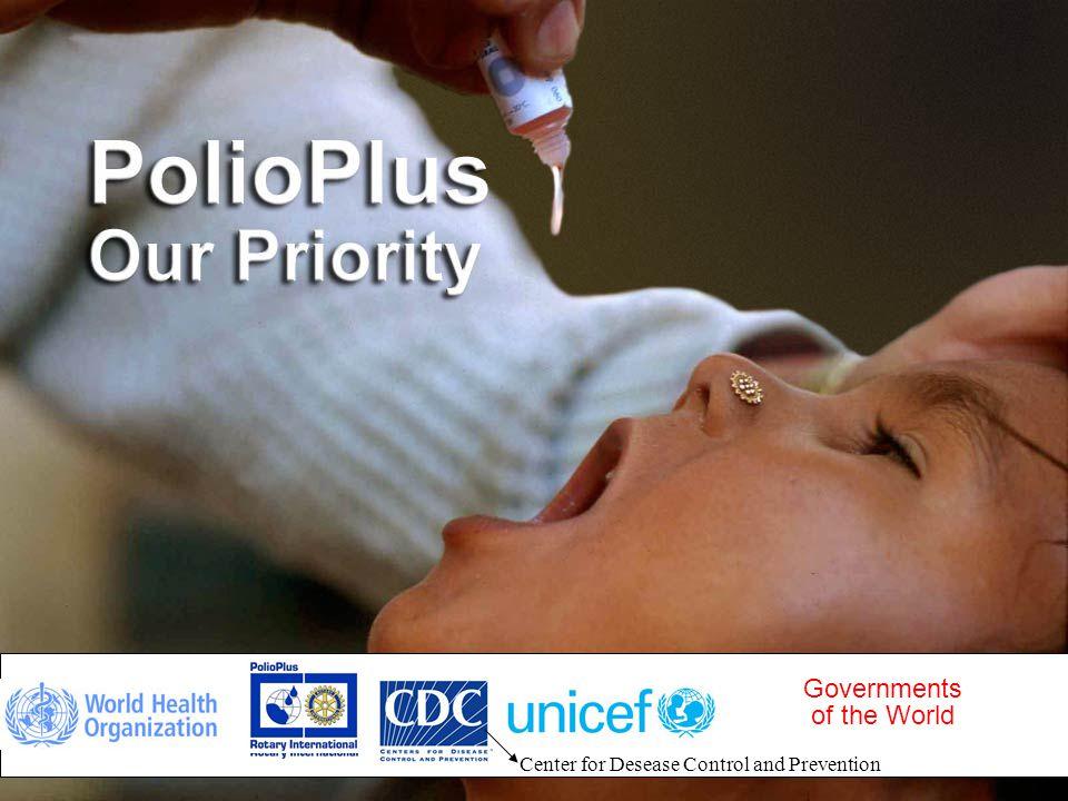IPDG Sverre Bjønnes PolioPlus - Oslo RK- 5.03.09 7 Utviklingen av utryddelsen av Polio