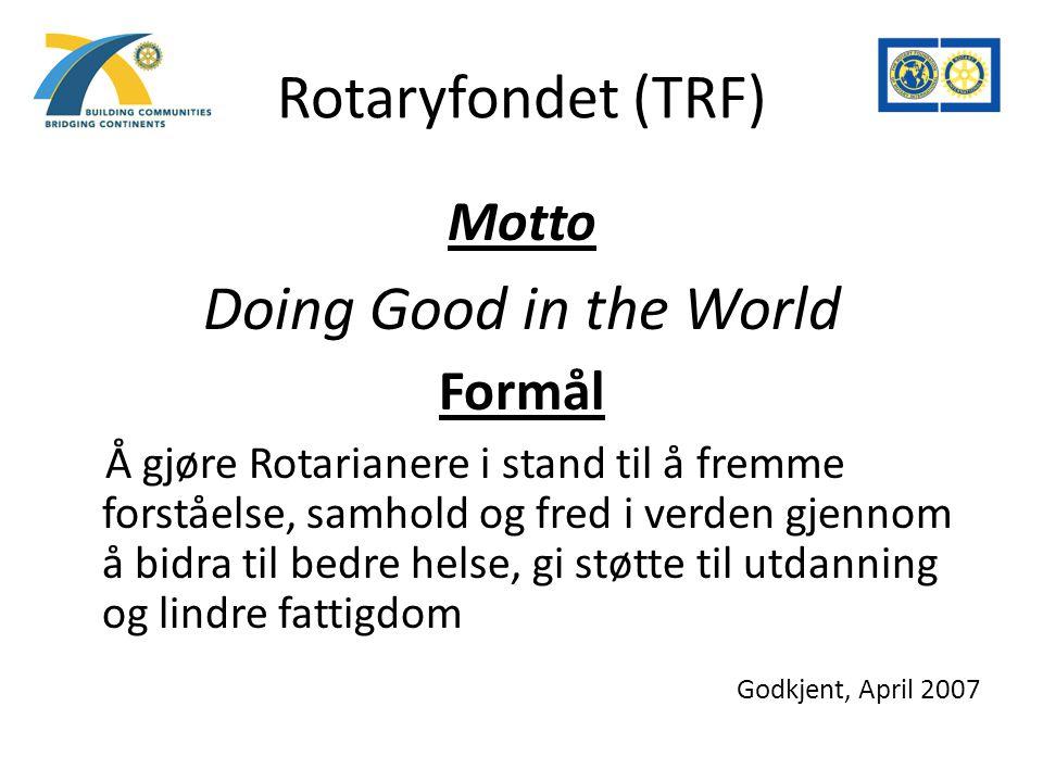 To måter å bidra på Annual Program Fund / Matching Grant Polio Plus v/Anne Torsvik