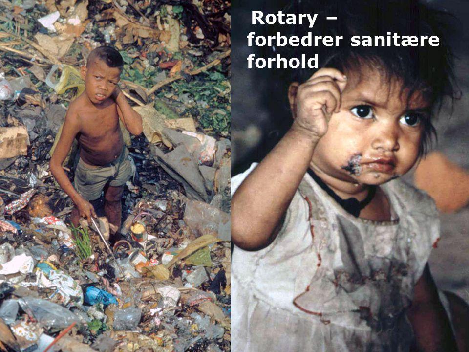 Rotary – forbedrer sanitære forhold