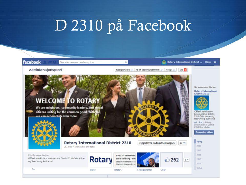 D 2310 på Facebook