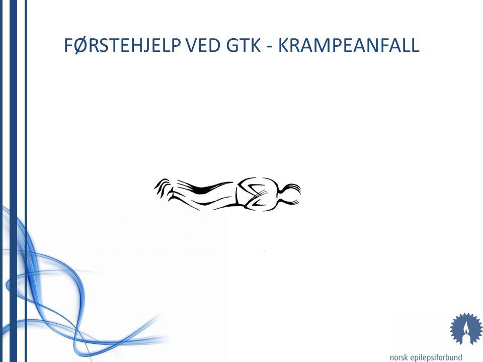 GENERALISERTE TONISK-KLONISKE ANFALL (GTK) 1.TONISK FASE MED BEVISSTLØSHET OG TILSTIVNING - pustestopp - blekhet som går over i blåfarge (cyanose) - s