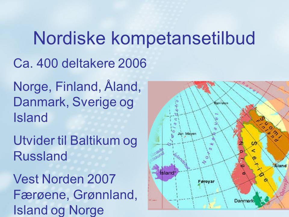 Nordiske kompetansetilbud Ca.