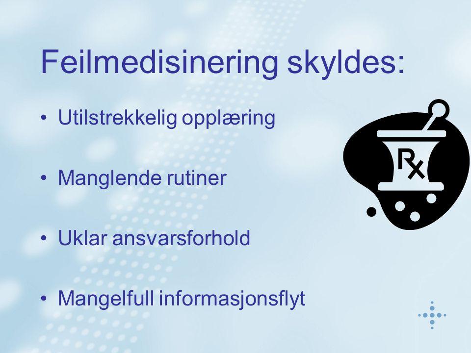 Kartlegging av behov Intervju 35 informanter –Fastlege (lege og kontorpersonell), Hjemmetjeneste (inkl.