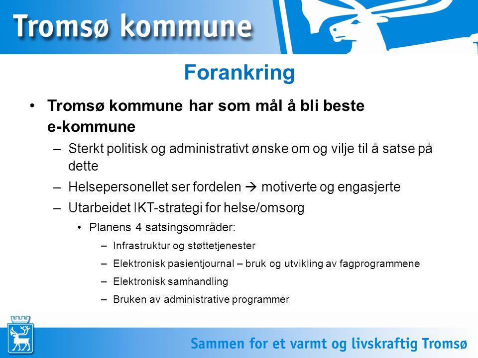 Historikk elektroniske meldinger Krokenprosjeket 2003 SES@m-prosjektet 2004-2006 ELIN-k prosjektet 2007  jan/feb 2011 Meldingsløftet i kommunen (MiK) Tromsø (FUNNKe- prosjektet) 2010-2011