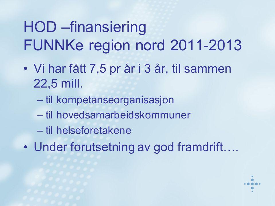 Prosjekt FUNNKe Organiserer det nasjonale prosjektet Meldingsløftet i kommunene – MIK (2010-11) i region nord FUNNKe vil ha med alle 88 kommuner i 2011-2013 MIK– inviterer i 2011 –2 hovedsamarbeidskommuner: Tromsø, Lenvik –6 samarbeidskommuner FUNNKe – inviterer i tillegg –1-3 kommuner.