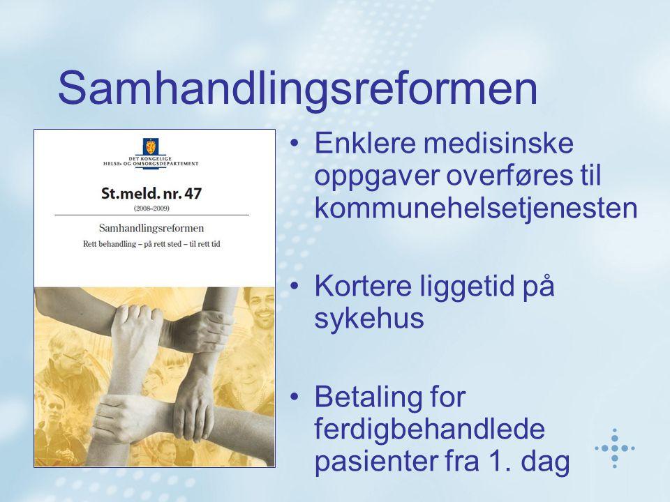 Status PLO – fastleger region nord 11 kommuner har startet Alta Tromsø, Kåfjord, Lenvik, Dyrøy, Bardu, Harstad, Narvik Bodø, Saltdal Rana Ca 30 kommuner forventet i 2012 Ca 40 kommuner forventet i 2013