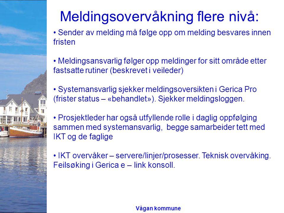 Vågan Kommune, Meldingstrafikk kvartal 3 Ant.