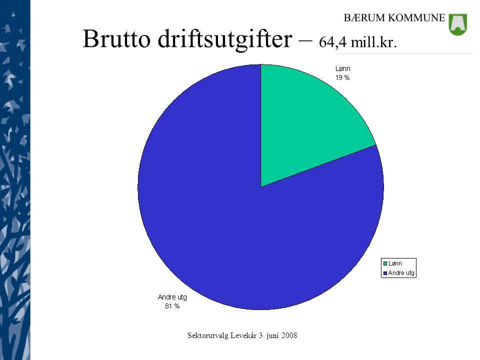 Sektorutvalg Levekår 3. juni 2008 Samferdsel: Nøkkeltall 2006