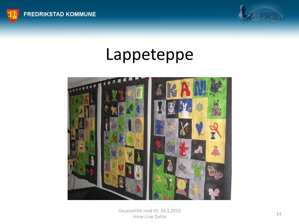 Lappeteppe Gaustablikk med KS 26.1.2010 Anne-Line Dahle 14