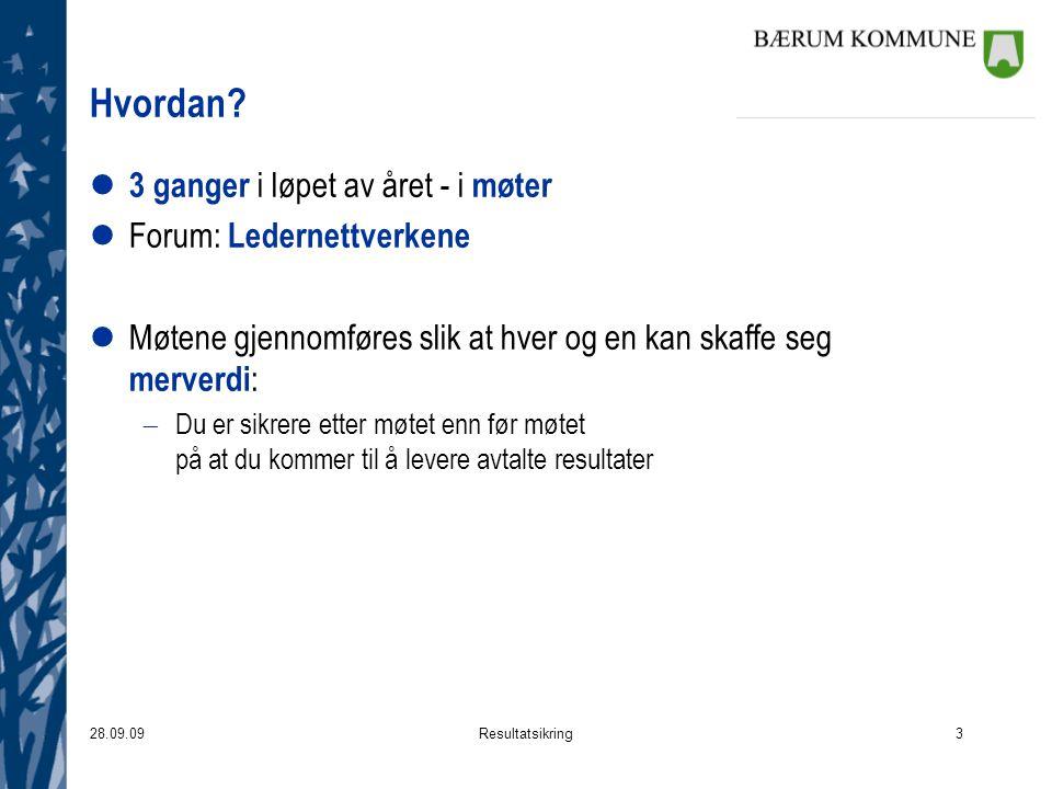 28.09.09Resultatsikring3 Hvordan.
