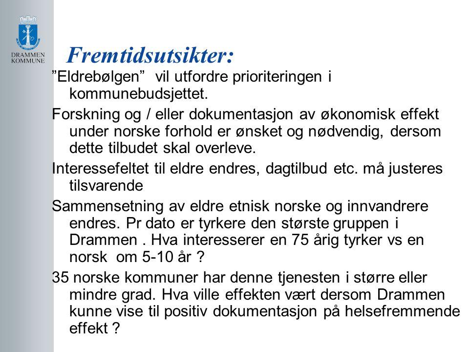 Fremtidsutsikter: Eldrebølgen vil utfordre prioriteringen i kommunebudsjettet.