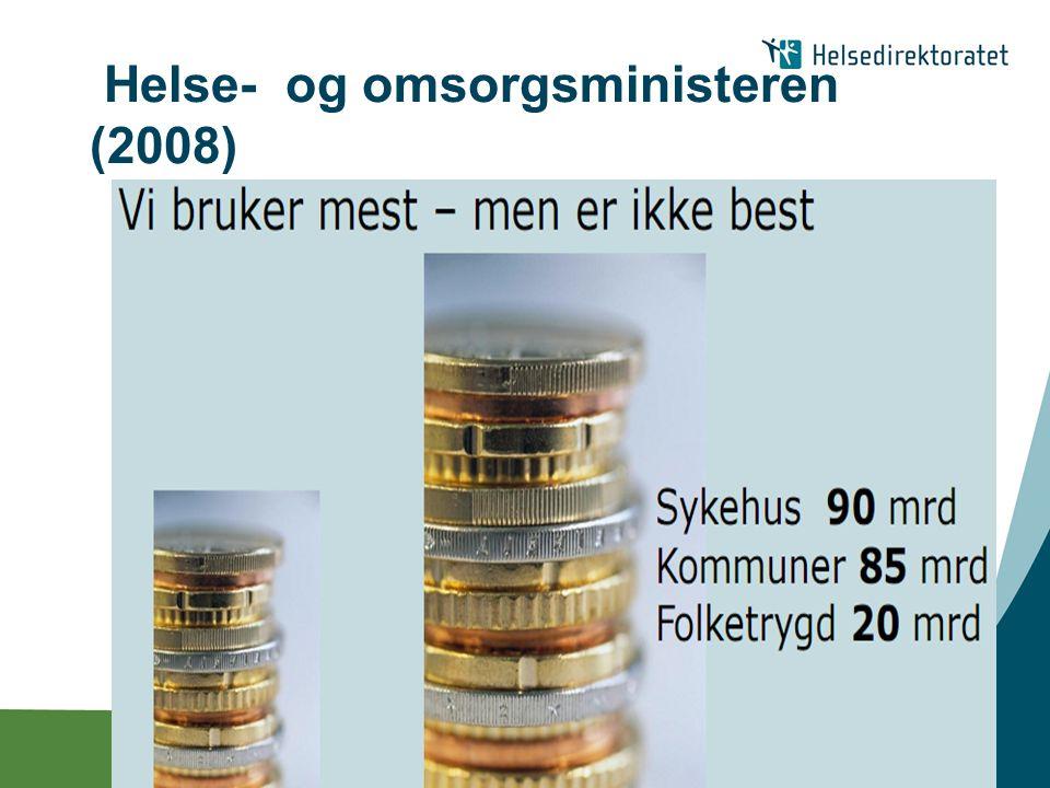 | Helse- og omsorgsministeren (2008)