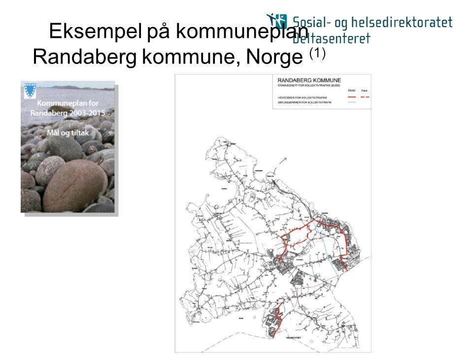Eksempel på kommuneplan Randaberg kommune, Norge (1)