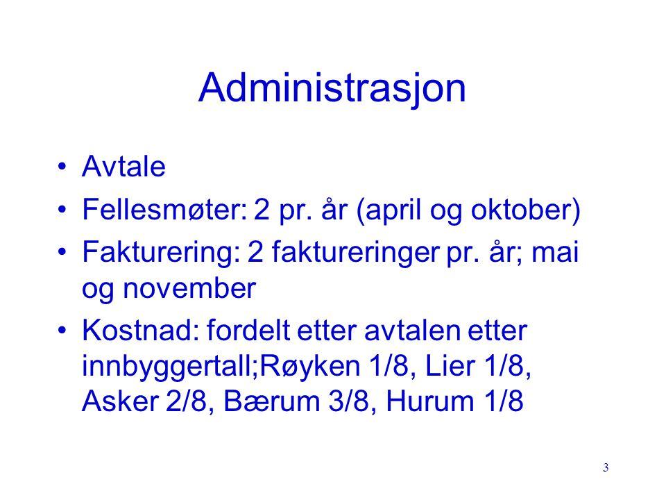 4 Administrasjon (forts.) Kostnadene dekker: - reiseutgifter, - kontor- og datautgifter, - lønn, - storbrukermøter - foredrag for bedrifter og foreninger