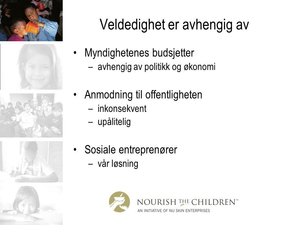 Sosiale entreprenører Sosiale entreprenører nøyer seg ikke med å gi noen en fisk eller å lære dem å fiske.