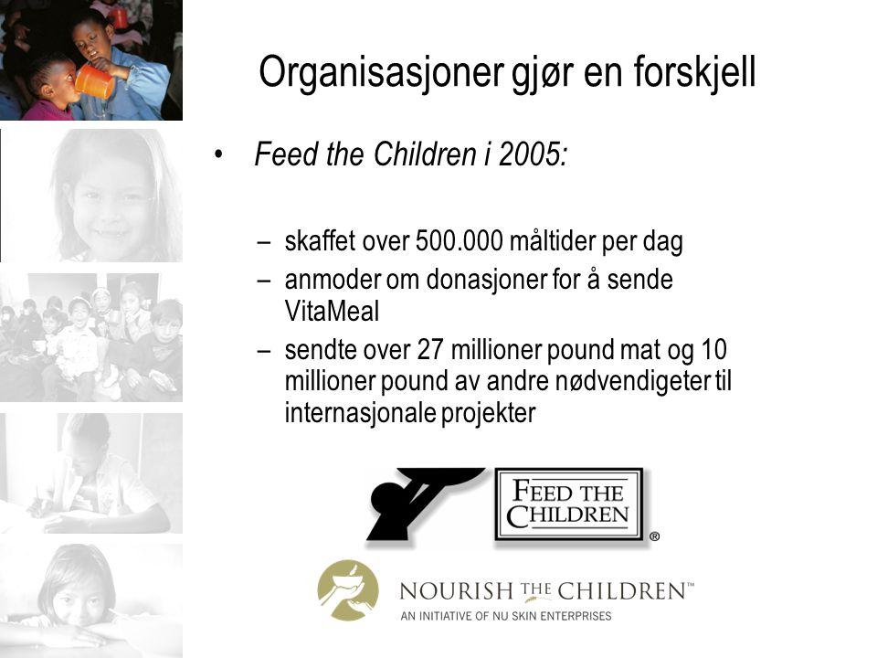 VitaMeal Sink –utbredt mangel på LDC –vekstforsinkelse –barn sårbare for infeksjoner og diaré –reduserer varigheten og alvorligheten av barnediaré –diarésykdommer blir anslått til å ta livet av over tre millioner barn hvert år verden over