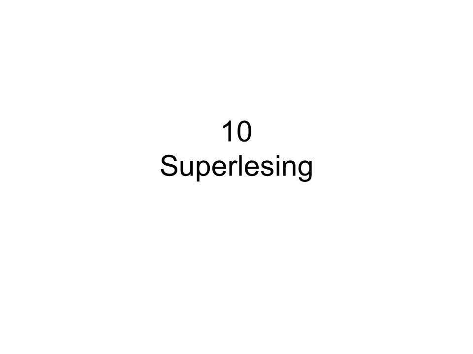10.1 Superlesing - din maksimale lesehastighet Superlesing er å bruke superlesingsteknikken og superlesingsmetoden Superlesing er å bruke dine leseevner fullt ut Superlesing er lesehastigheter over 2000 ord per minutt