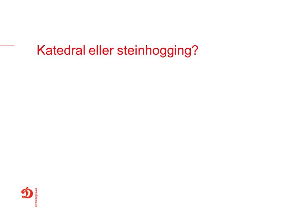 Katedral eller steinhogging?