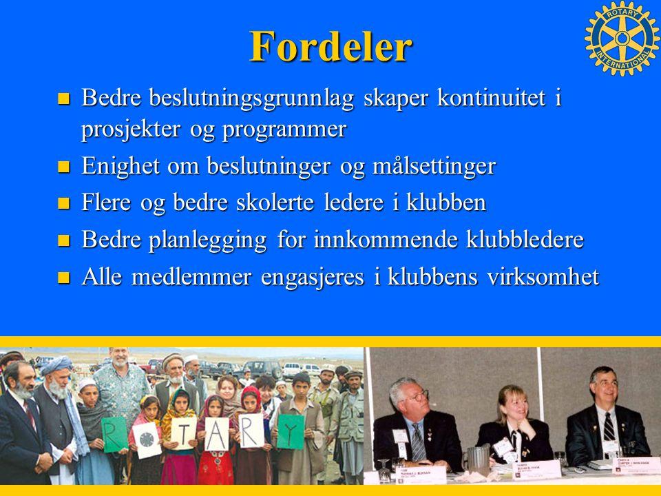 12 Fordeler Bedre beslutningsgrunnlag skaper kontinuitet i prosjekter og programmer Bedre beslutningsgrunnlag skaper kontinuitet i prosjekter og progr