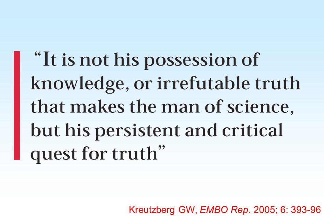 Kreutzberg GW, EMBO Rep. 2005; 6: 393-96