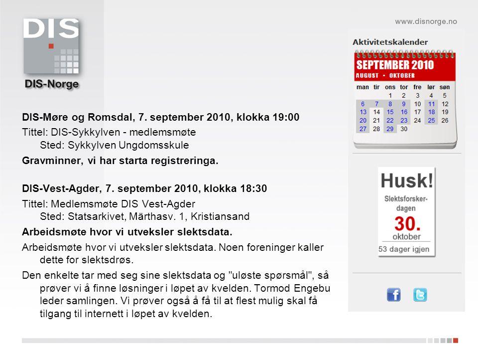 DIS-Møre og Romsdal, 7.