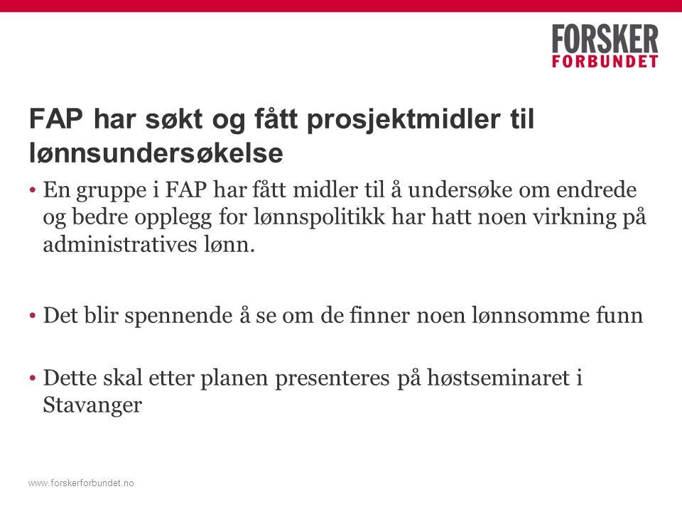 Forskerforbundets lønnsstrategi (Anthun) Lønnsgapet skal fjernes.