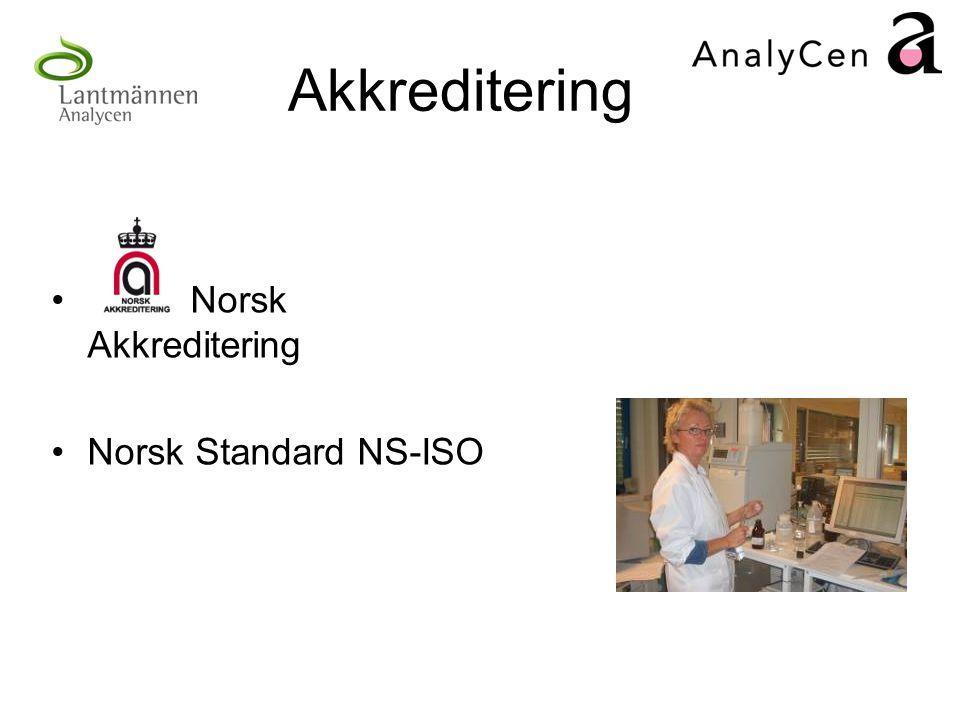 Akkreditering Norsk Akkreditering Norsk Standard NS-ISO