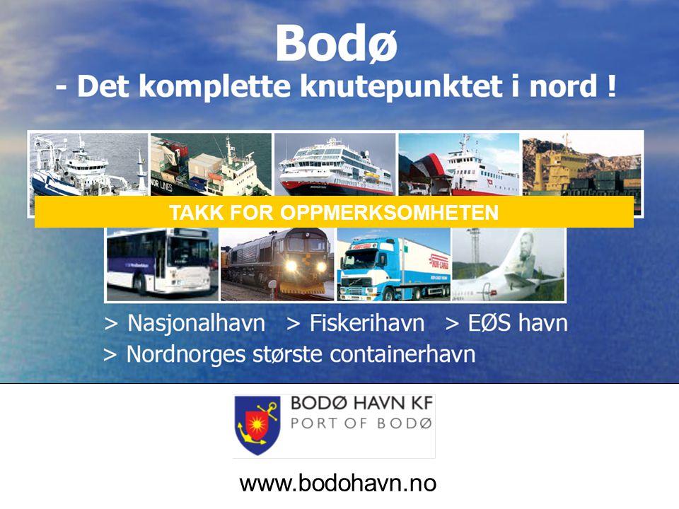 TAKK FOR OPPMERKSOMHETEN www.bodohavn.no TAKK FOR OPPMERKSOMHETEN