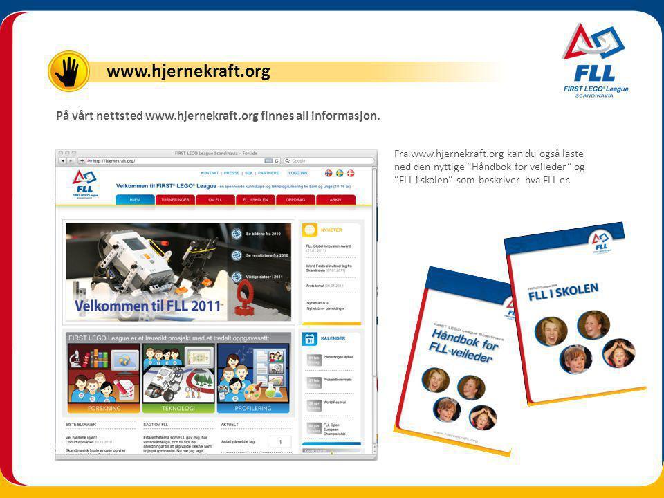 På vårt nettsted www.hjernekraft.org finnes all informasjon.