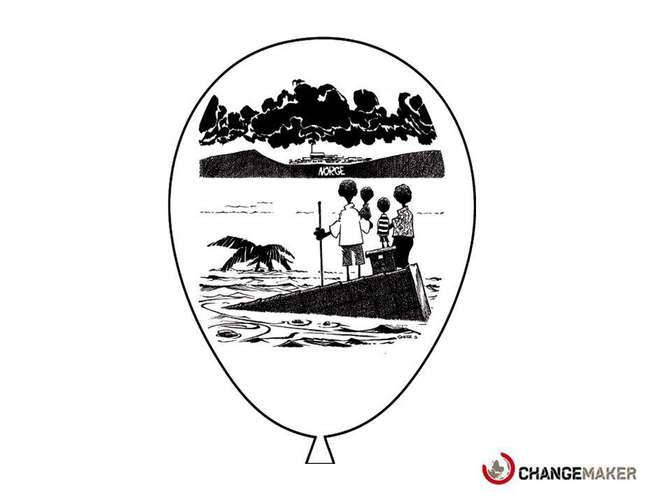 Kirkens Nødhjelp og Changemaker mener at: 1.Norge må redusere utslipp av klimagasser nå.