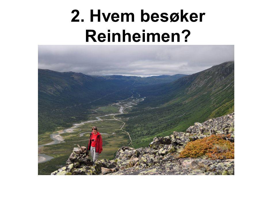2. Hvem besøker Reinheimen