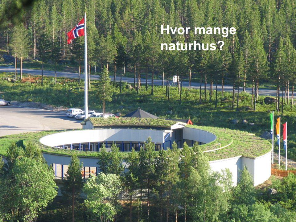 nordland www.dirnat.no Hvor mange naturhus?