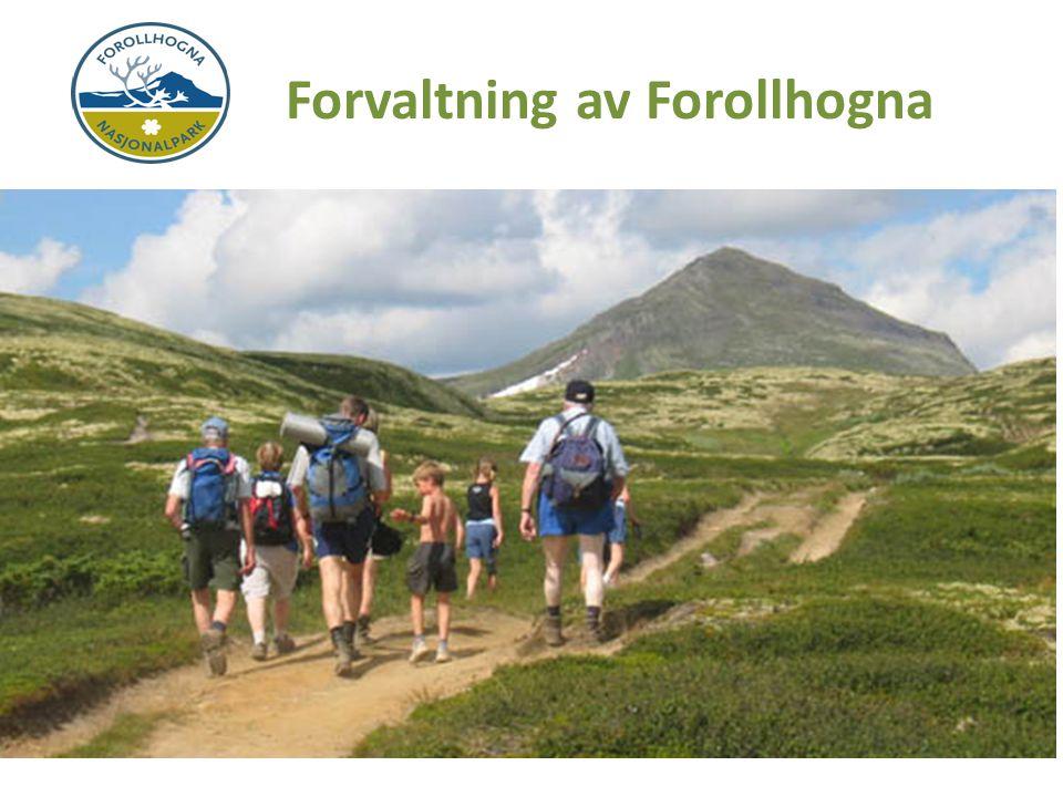 Den grønne nasjonalparken Stort, sammenhengende, og i det vesentlige urørt fjellområde.