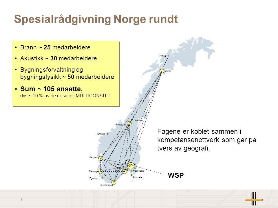 17 Illustrasjon fra resepsjonen i vårt nye kontorbygg i Oslo (innflytting 10. mars) Zinc