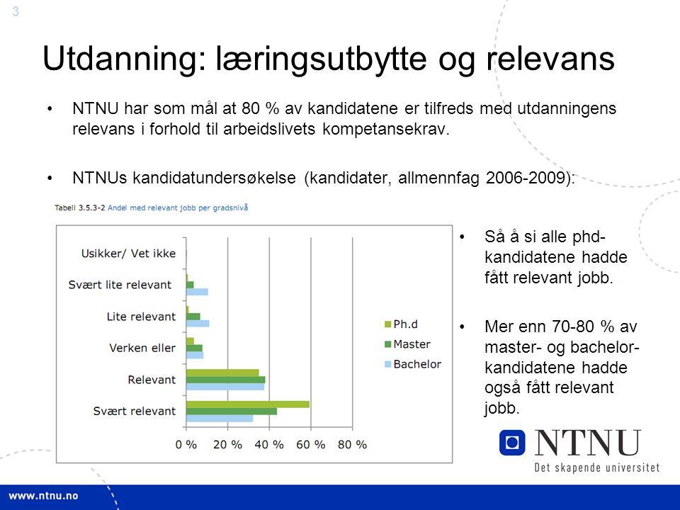 4 NTNU fjerde best i verden - NTNU er sterk til å koble forskning og næringsliv ifølge Leiden-universitetets undersøkelse.