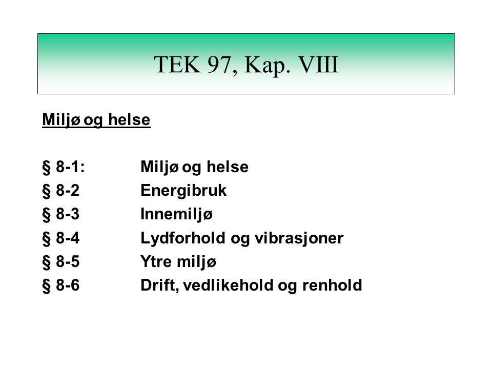 TEK 97, Kap.