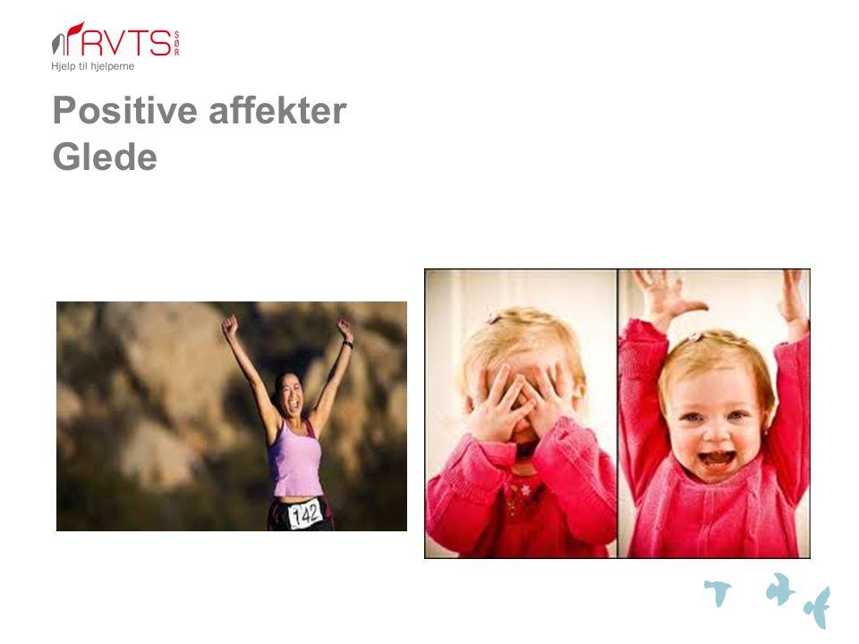 Positive affekter Glede