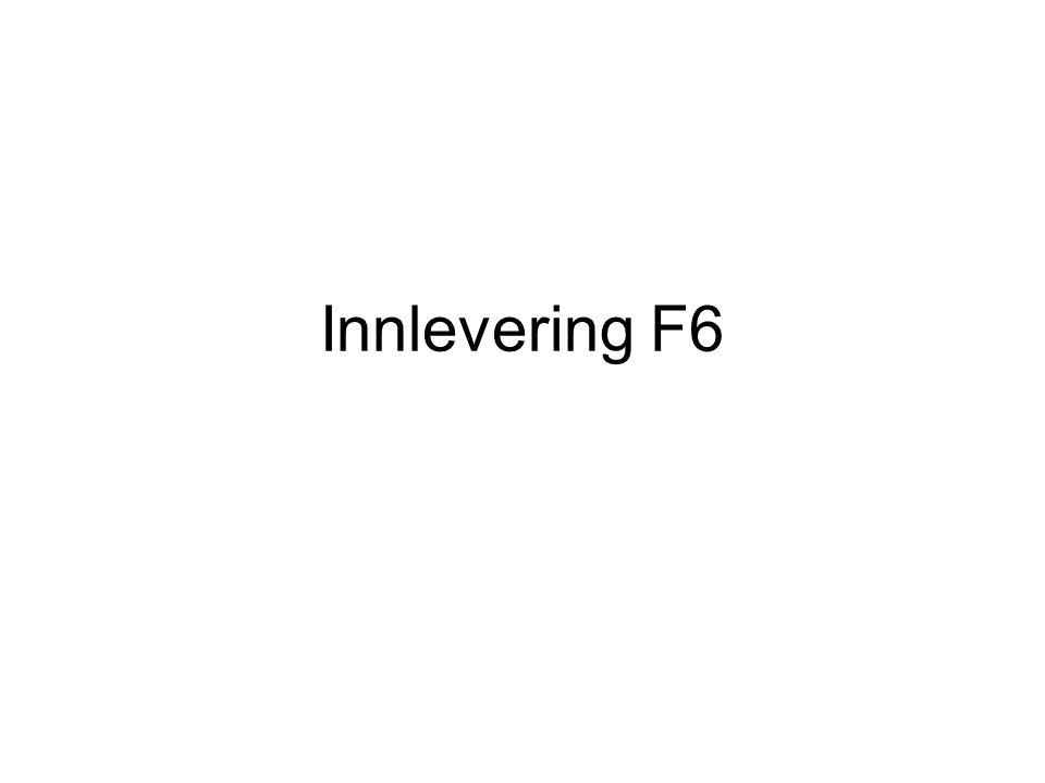Innlevering F6