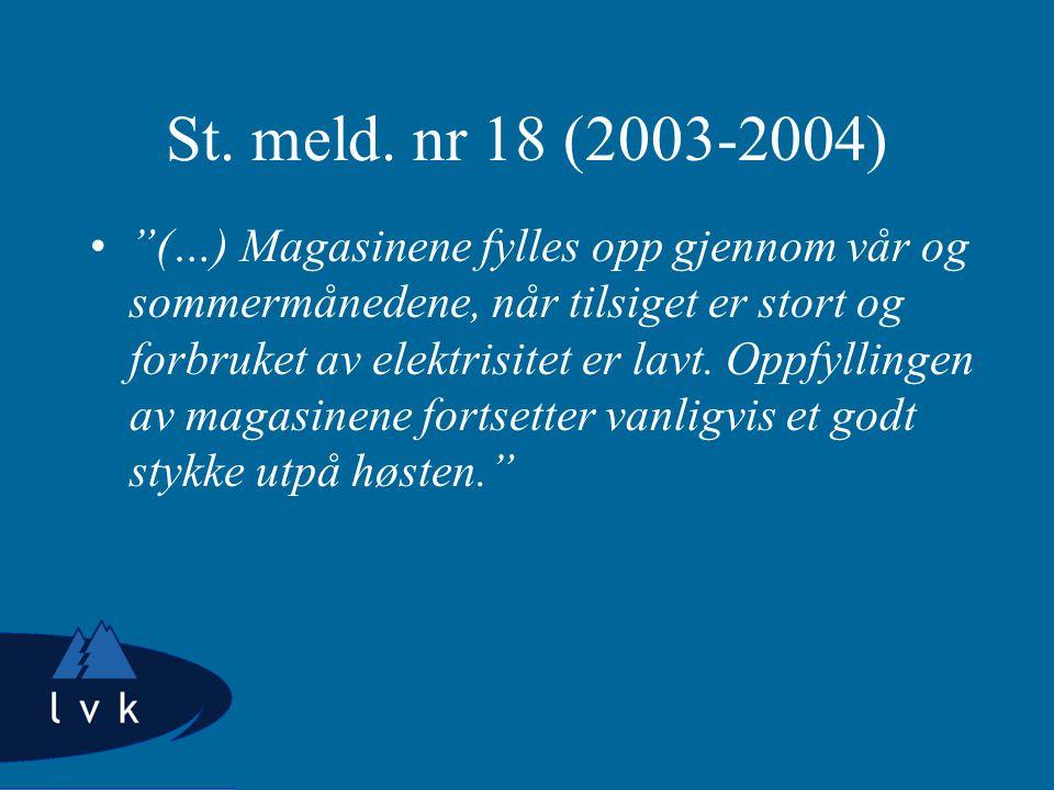 St. meld.
