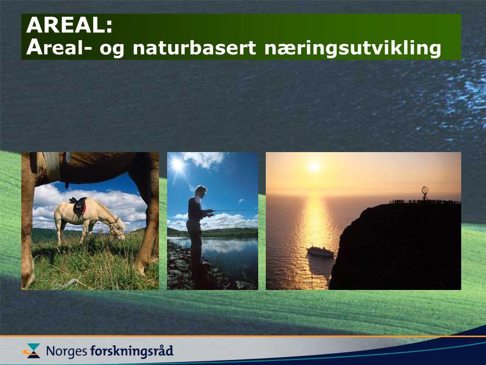 AREAL: A real- og naturbasert næringsutvikling