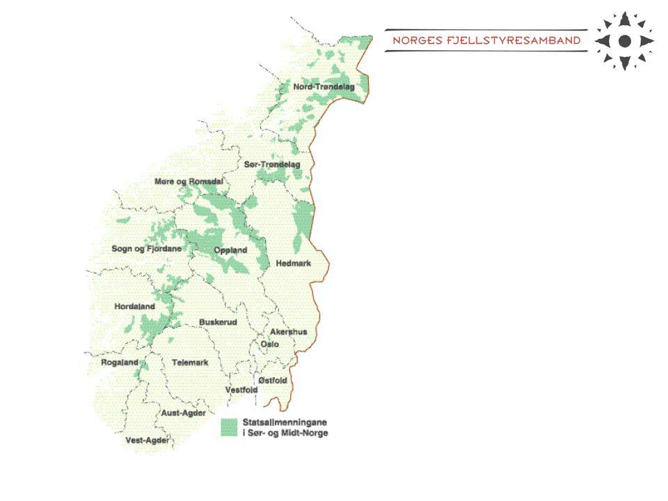 Nøkkeltall: Areal: 27 mill daa Antall fjellstyrer: 94 Gj.snittsareal: 300.000 daa Antall ansatte: ca 60 årsverk Brutto omsetning: ca 50 - 60 mill kr.