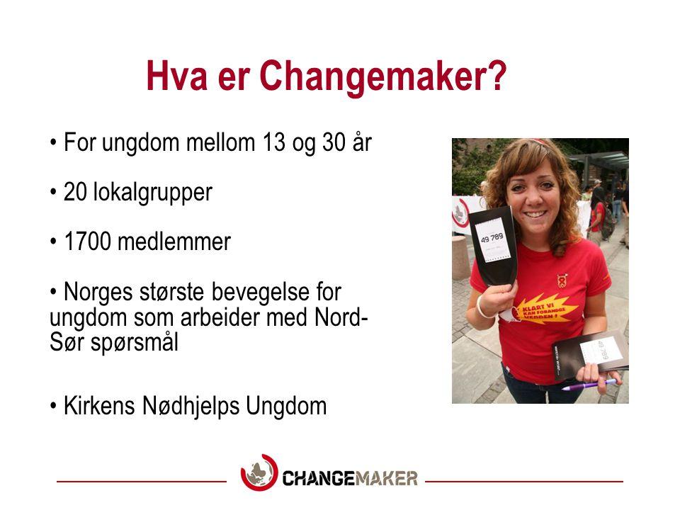 Hva er Changemaker.